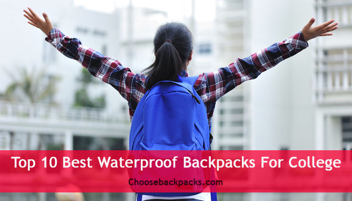 Top 10 Best Waterproof Backpacks For College  2019  Review 6d0aca7195b33