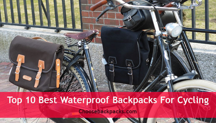 Top 10 Best Waterproof Backpacks For Cycling   2019  Review 396e4643099b4