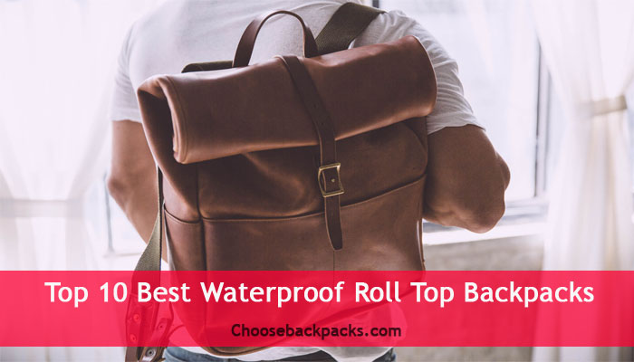 Best Roll Top Backpacks [Waterproof Leather] Reviews